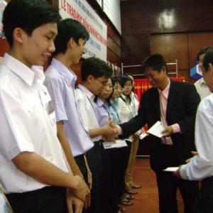 Lễ trao học bổng của tập đoàn ICFOOD Hàn Quốc