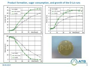 Test report for Lactic acid fermentation 4